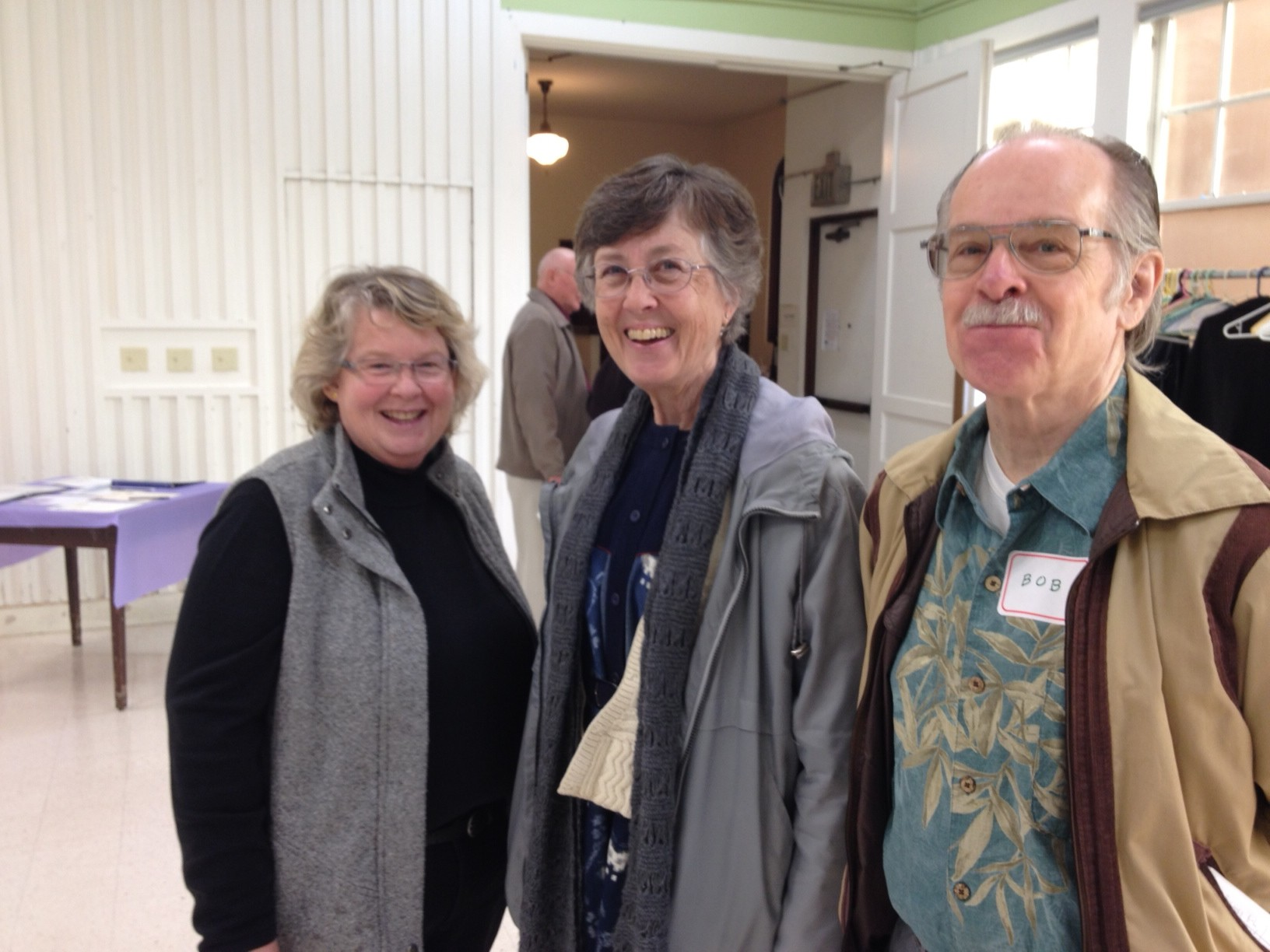 Kimberly Murman, Bob Newman and Joan Huff 3-30-14
