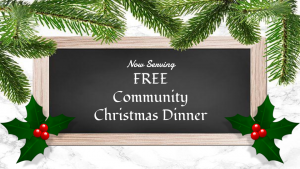 First Presbyterian Church free Community Christmas Dinner