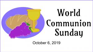World Communion Sunday, First Presbyterian Church, Phoenixville