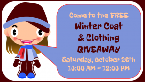 FREE Winter Clothing Giveaway First Presbyterian Church Phoenixville