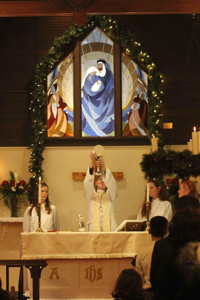 Christmas Eve at All Saint's CF #5