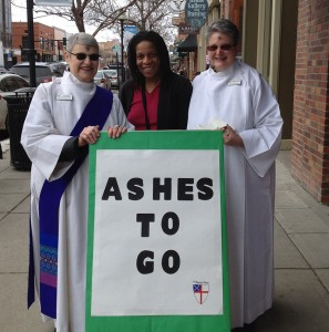 ashes to go deacons