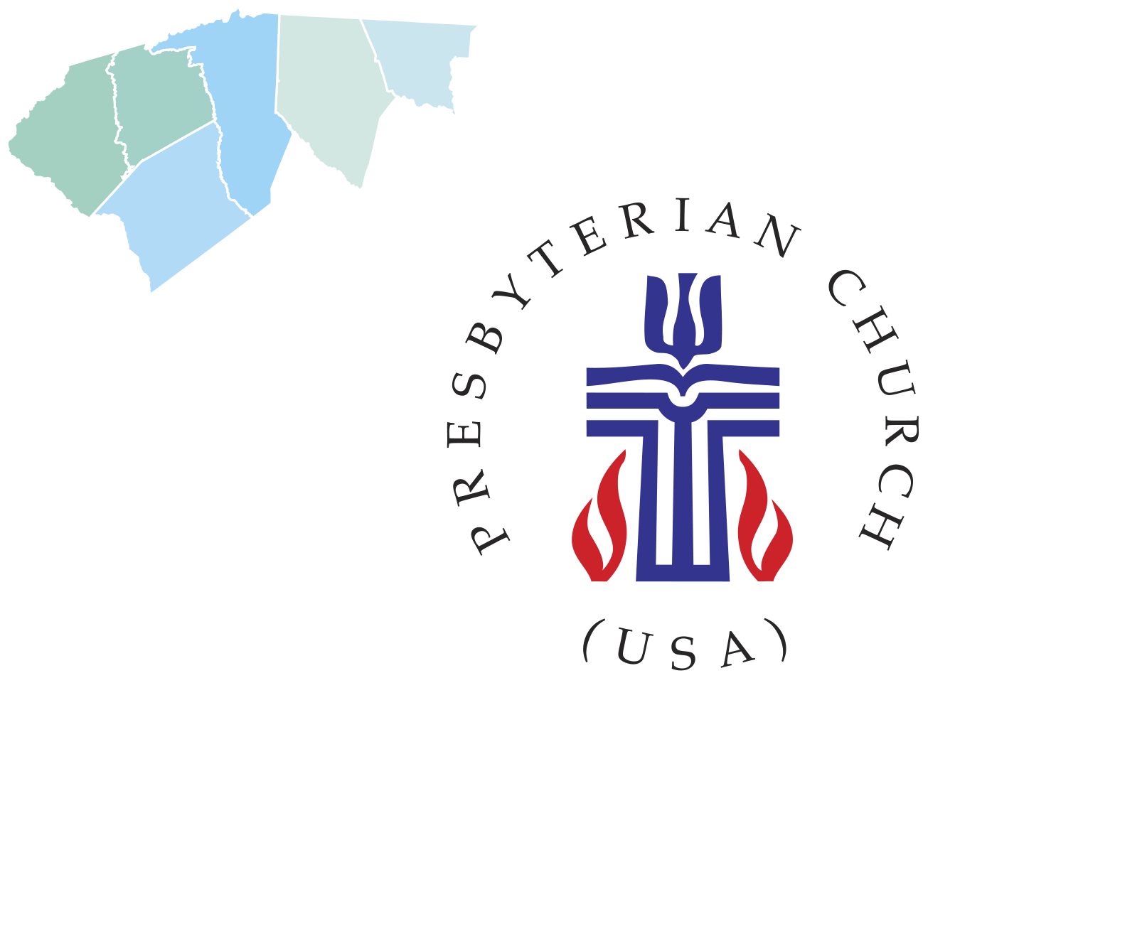 Foothills Presbytery Area Map