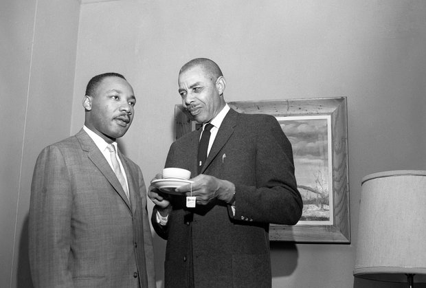 Martin Luther King Jr and E Major Shavers