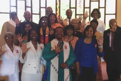Celebrating our designation as a 5 for 5 church (2012)