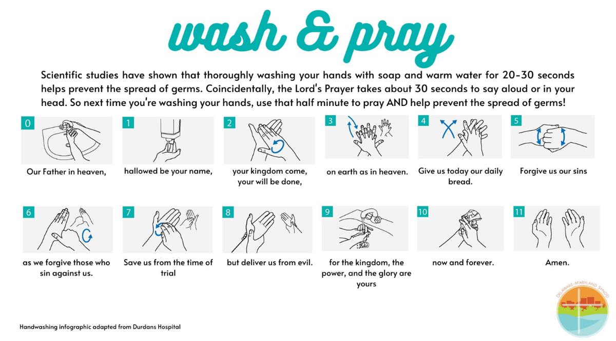 Wash and Pray