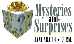 mysteries and surprises logo
