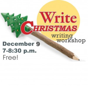 square write christmas logo 2015 with date