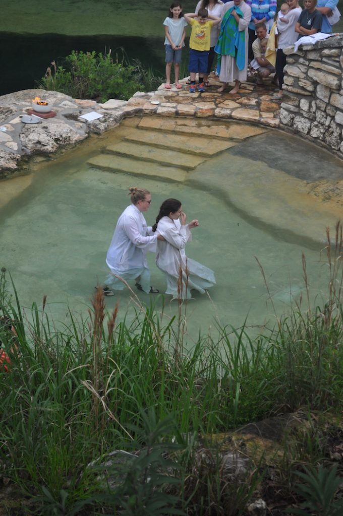 hill country baptism 1