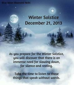 Sunday Program - A Special Christmas and Winter Solstice Service