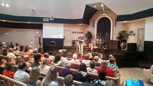 Shawn preaching