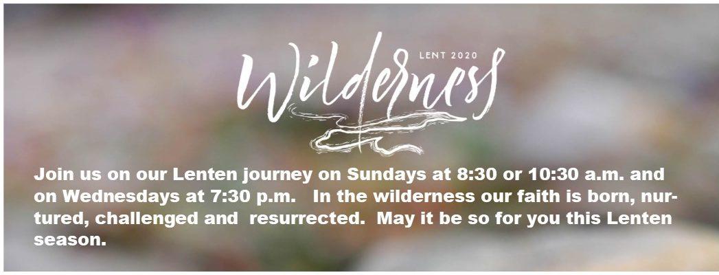 2020 Lent Banner