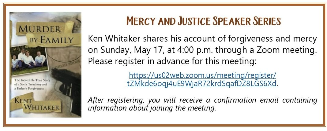 Mercy and Justice Whitaker