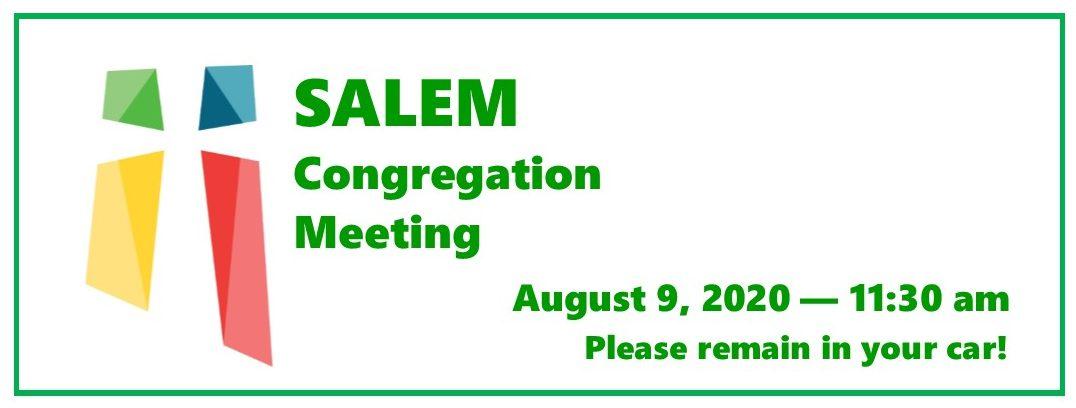 Congregation Meeting Banner