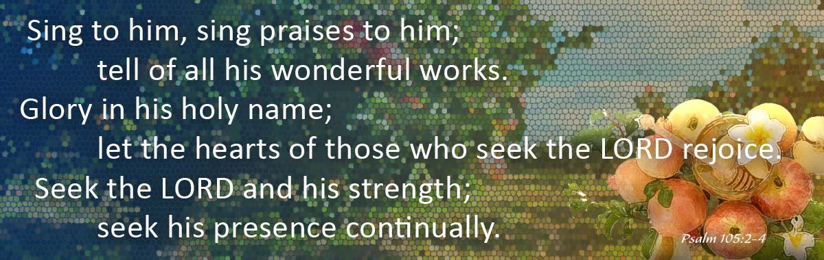 Psalm 105 19Sept